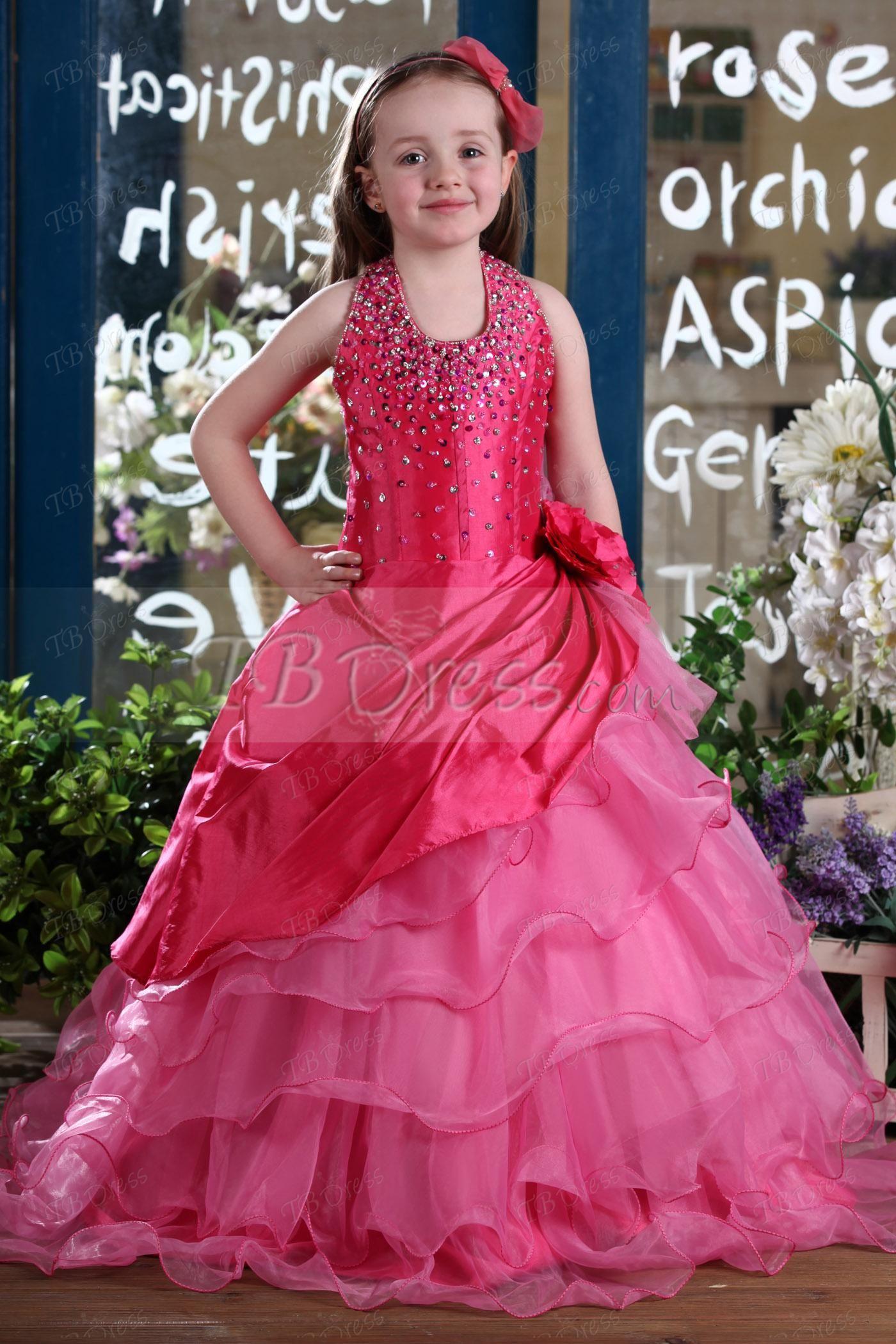Les robes de soiree pour fille 2014