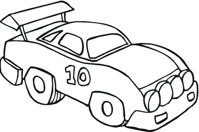 Free Car Coloring Pages For Preschooler Race Car Coloring Pages Cars Coloring Pages Cool Coloring Pages