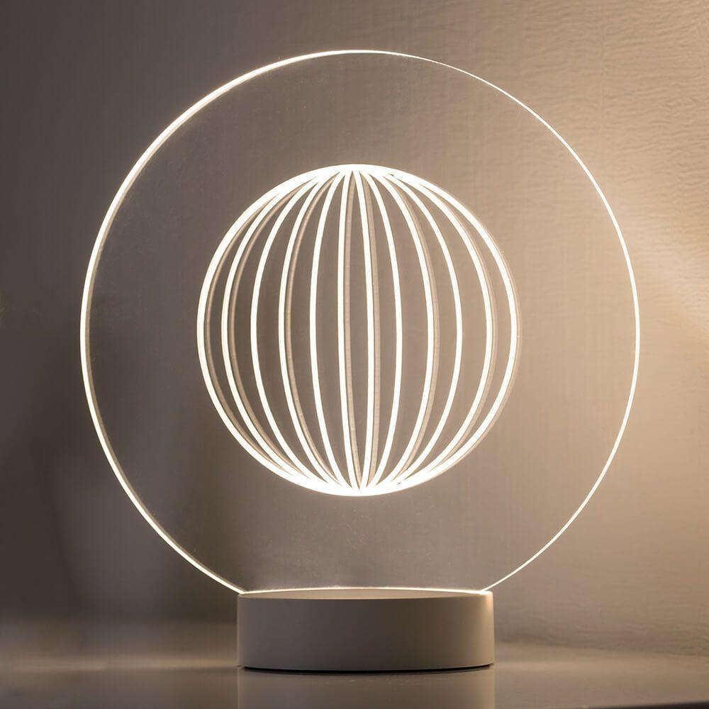 Mit Coolem 3d Effekt Led Tischleuchte Yarn Jetzt Bestellen Unter Https Moebel Ladendirekt De Lampen Tischleuchten Beistelltisch Led Tischleuchte Lampe Led