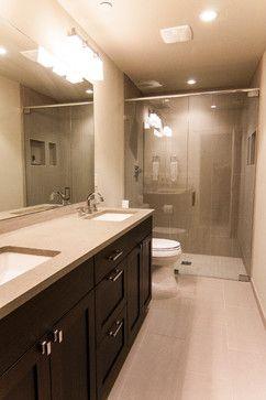 Daylight Basement Bath  Modern  Bathroom  Seattle  Northwest Interesting Bathroom Design Seattle Inspiration Design