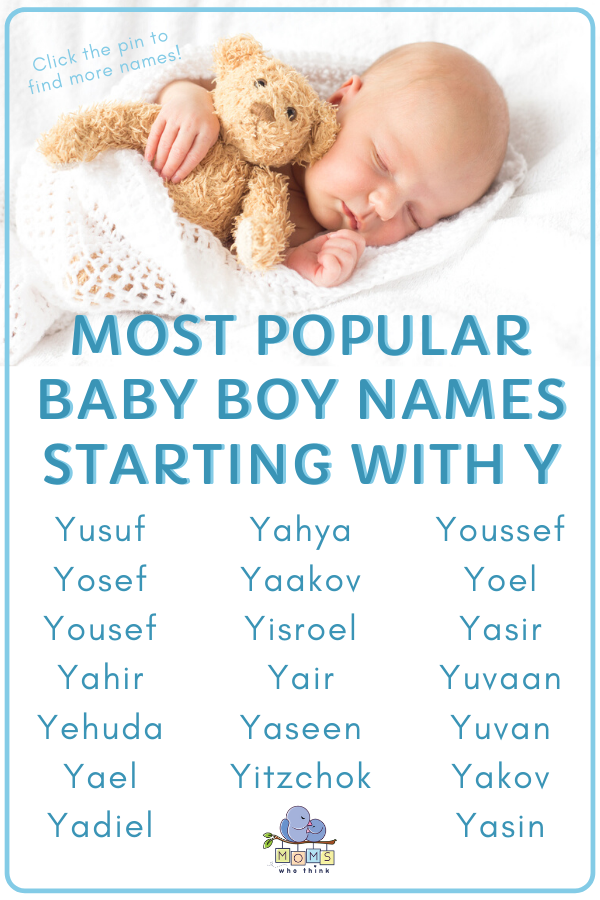 The most detailed list of popular & unique baby boy names ...
