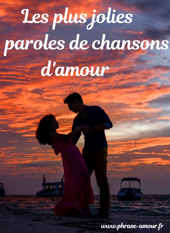Paroles Quelques Mots D Amour : paroles, quelques, amour, Jolies, Paroles, Chansons, D'amour., Chanson, Amour,