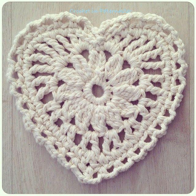 crochetinpaternoster crochet chunky cotton heart | Hobim Karışık ...
