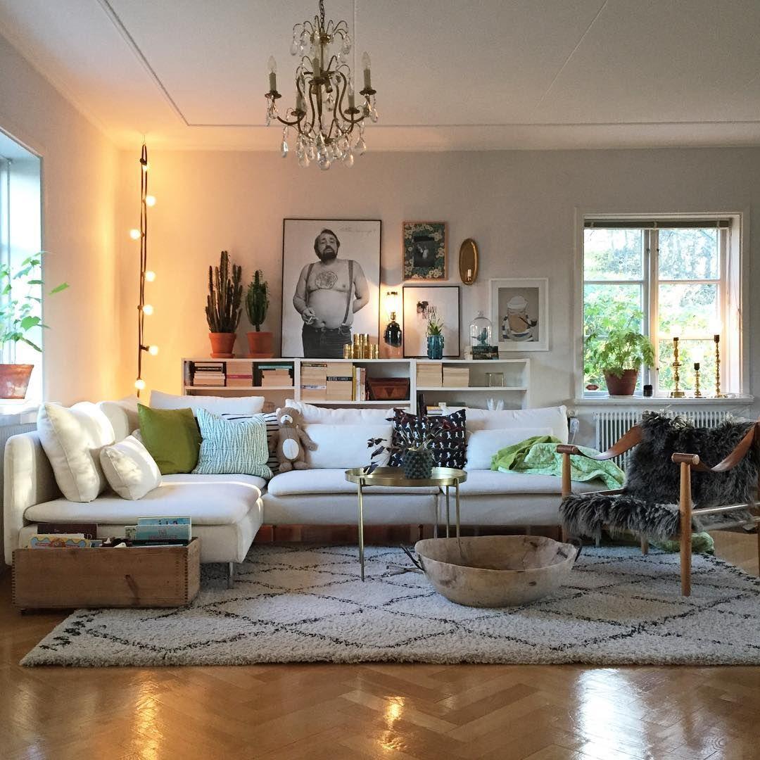Ikea 'Söderhamn' sofa @elfvinggarden | Vardagsrum ...