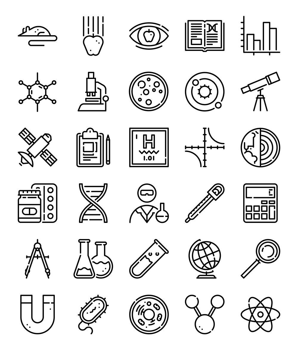 30 Free Vector Icons Of Scientific Study Designed By Freepik