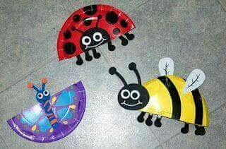 B is for Bugs A bug theme completes are week of studying the letter B. We made some paper plate bugs. I got this kit to make all three bugs at the ... : paper plate crafts for spring - pezcame.com