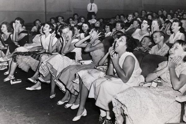 Rock and Roll audience, 1956