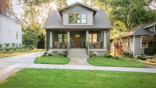 Take A Virtual Tour Of The Renovated 1920s Bungalow In Ann Arbor, Michigan