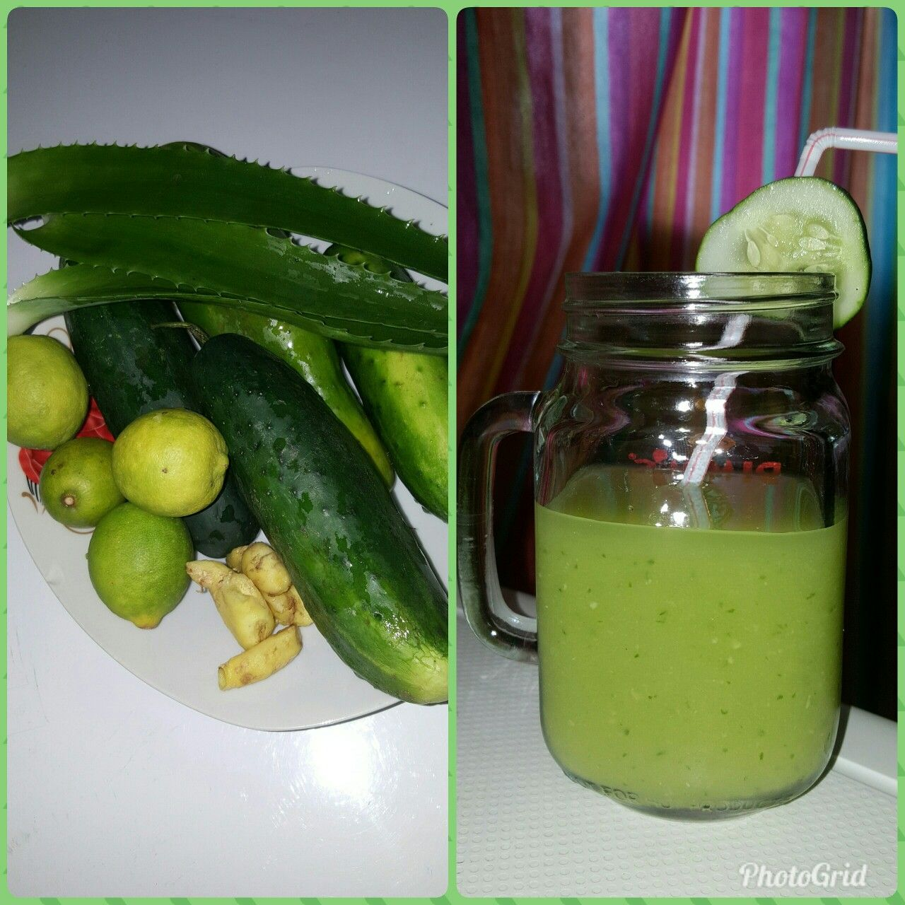 smoothie detox citron gingembre)