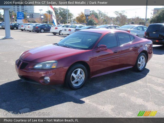 2004 Pontiac Grand Prix Gt 2004 Pontiac Grand Prix Gt Sedan In Sport Red Metallic Click To See Pontiac Grand Prix Grand Prix Pontiac