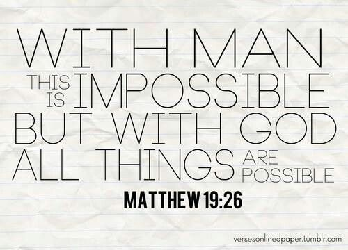 All Things Possible The Word Of God Speaks God Bible Christ