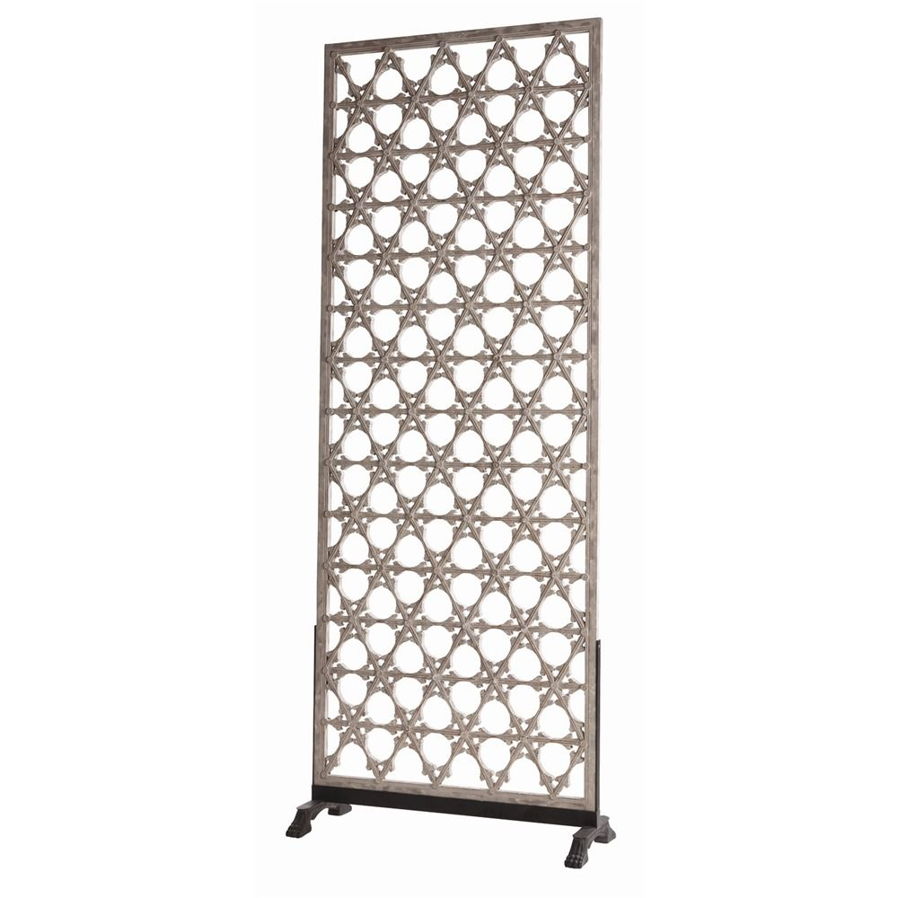 single panel wall screen by arteriors i would use this to define