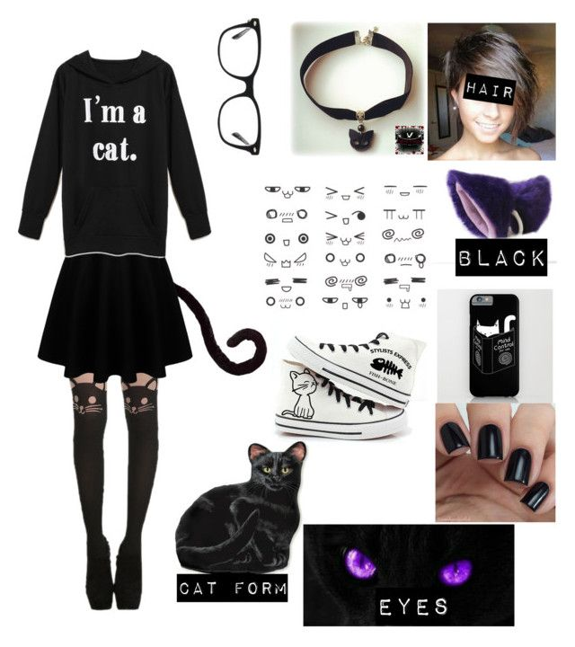 """""""Neko outfit"""" by potatolover123 ❤ liked on Polyvore featuring interior, interiors, interior design, home, home decor, interior decorating and Ray-Ban"""