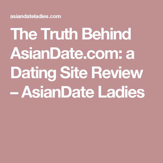 The truth behind dating websites