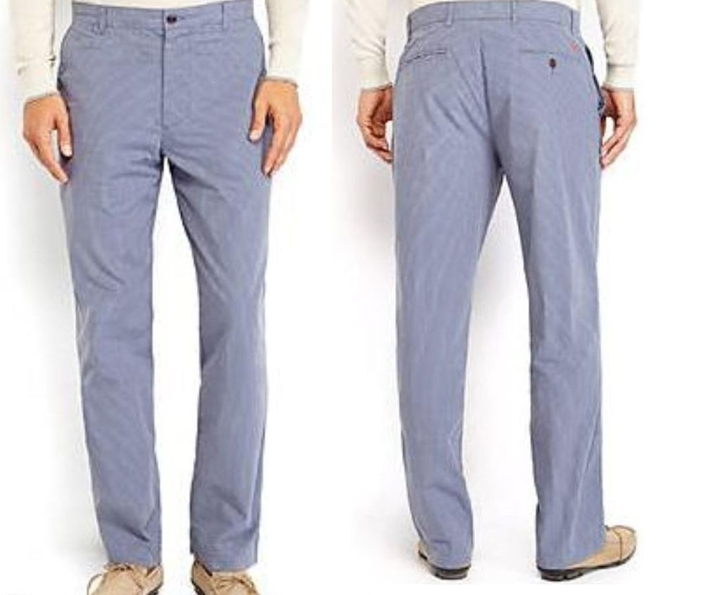 New DOCKERS Flat Front 4 Pockets Men/'s Pants Choice Size /& Color
