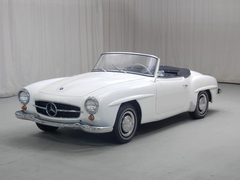 Vintage Mercedes 1962 | 1962 Mercedes-Benz 190SL - Classic Car Price ...