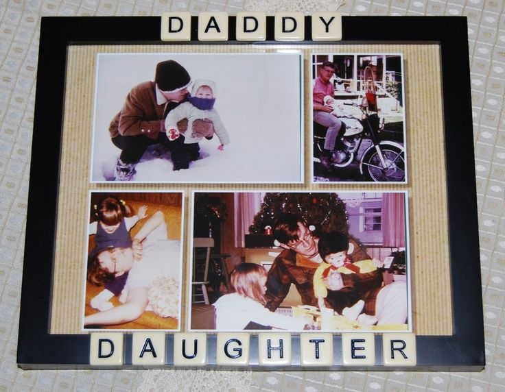 Daddy Daughter Frame Gift For Dad Craft Ideas Pinterest Dad Crafts Dad Christmas Christmas Presents For Dad