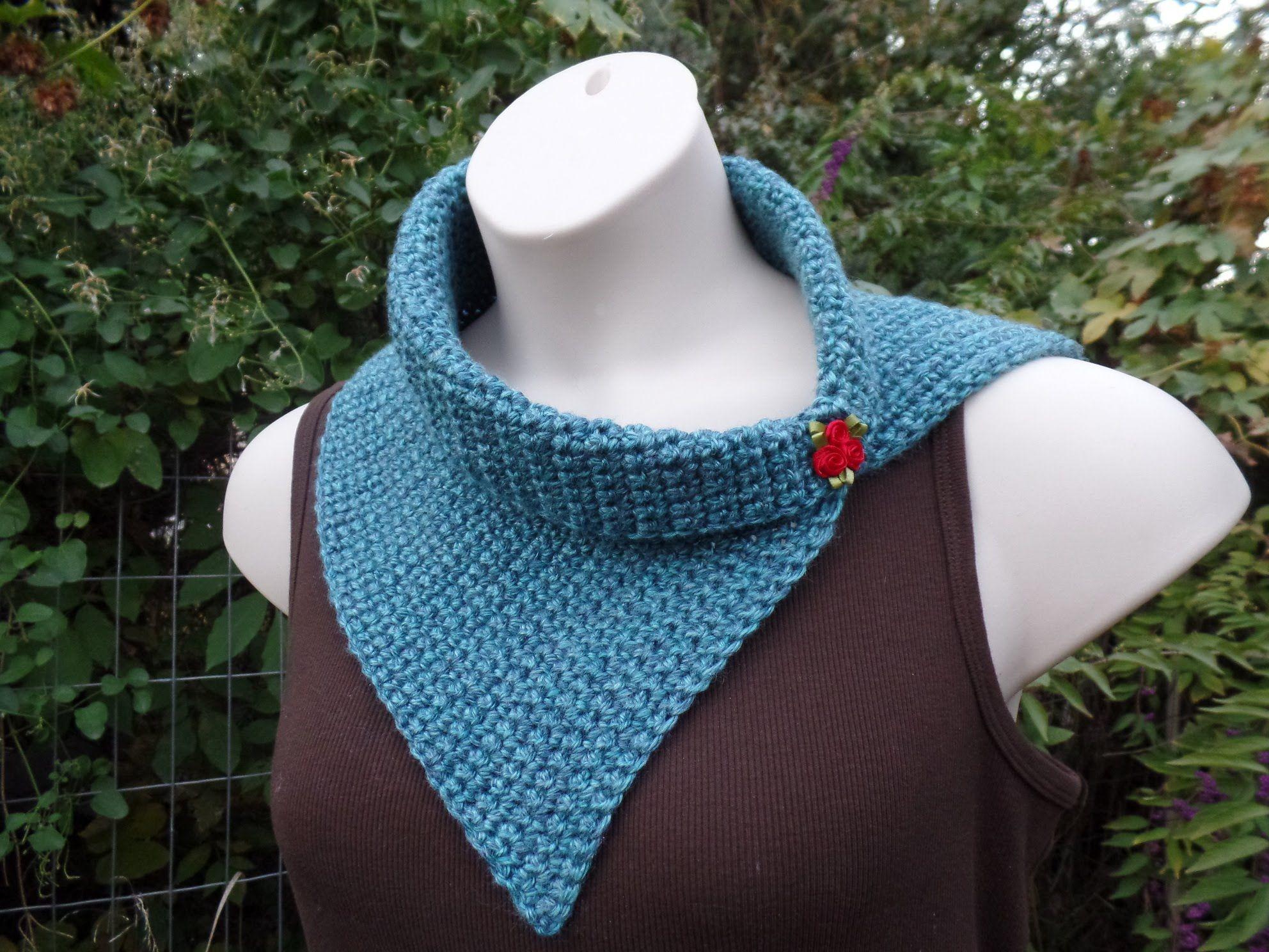 Crochet Easy Beginner Vintage Style Scarf Cowl Wrap #TUTORIAL ...