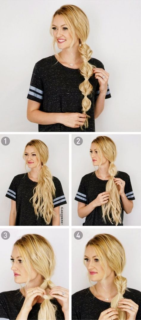60 Hairstyles That Can be Done in 3 Minutes #hair #love  #style  #beautiful  …