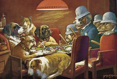 Pin By Jimmy Hoffman On Paintings Poker Dogs Dogs Playing Poker Dog Art Dog Paintings