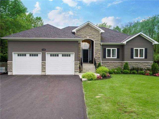 Stunning Custom Built Raised Bungalow With Walkouts To A Large Backyard Deck In A Fully Fenced Oversized Lot High De Sale House Renting A House Large Backyard