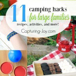 Camping with a large family can be a lot of work. With ...