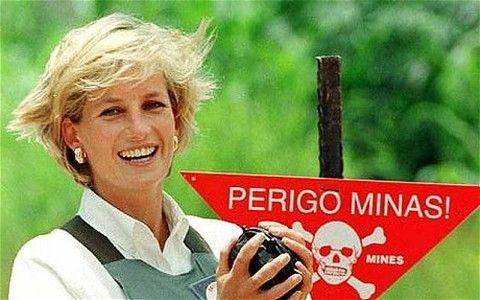 princess Diana at mine cause