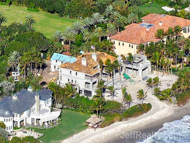 Elin Nordegren's gargantuan Florida mansion continues to ...