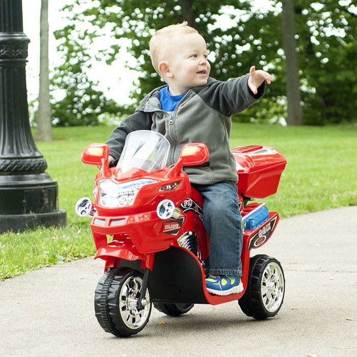 Ride on Toy, 3 Wheel Motorcycle Trike for Kids by Lil