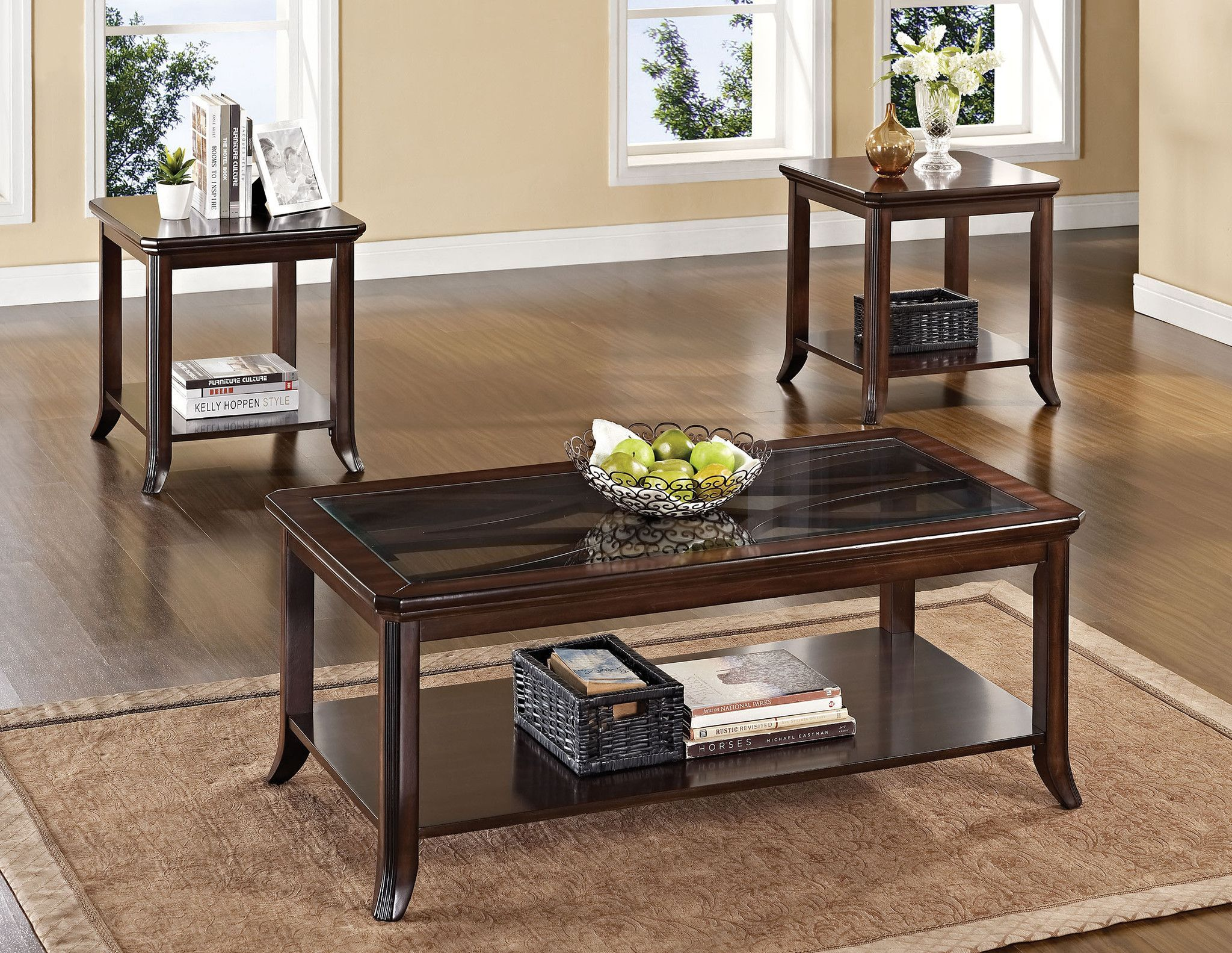 3PC PK COFFEE END TABLE SET W P2 Products Pinterest