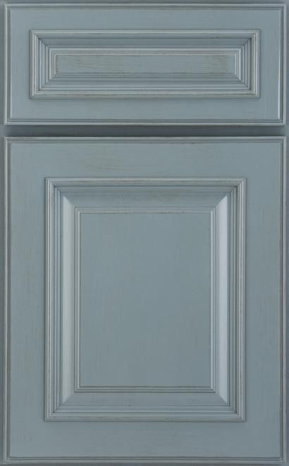 Medallion Cabinets Wakefield Maple Islander Sheer