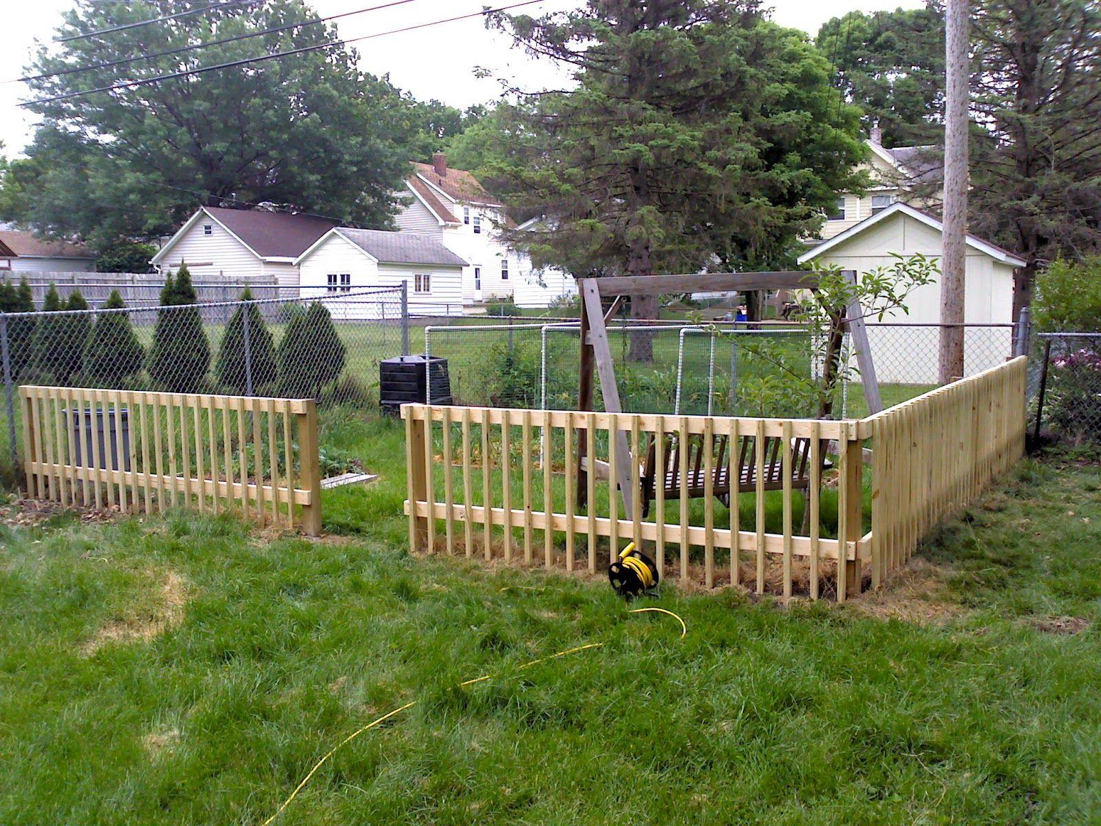 uncommoncoder diy garden fence - Diy Garden Fence Ideas