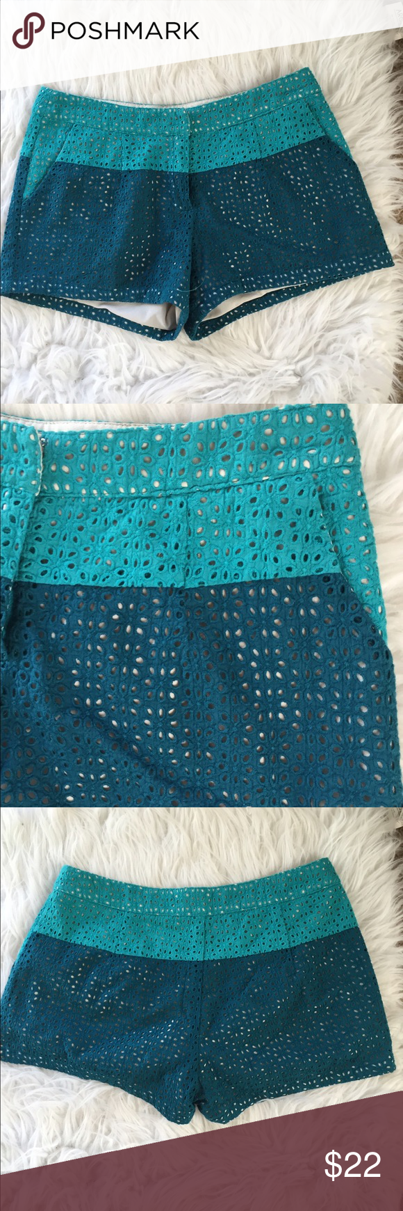 🎉HP🎉c.luce two toned shorts So cute!!! 100% cotton. Great condition apart from small marker spot on the inside which is NOT noticeable from the outside. 🎉Host Pick 3.27.17 Flirty Favorites🎉❌Trades/Outside Transactions❌ 😻 friendly home 😻 💅🏼Serious buyers only ❤️Bundles of 5 or more listings get HALF OFF YOUR WHOLE PURCHASE!❤️-separate listing must be made. Please ask!  📦Buyer pays extra shipping when applicable📦 💓Some colors vary in person!-inc. blues and greens!  😘thank you…