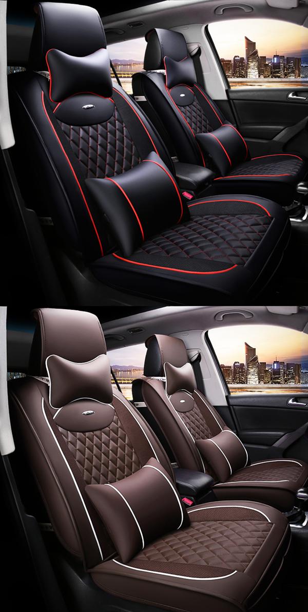Universal Fit Seat Covers Custom Car Interior Car Interior Car Seats