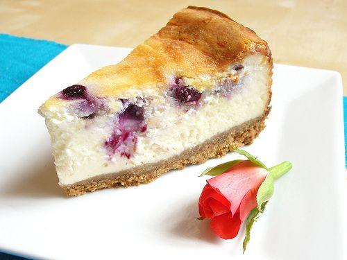 Stevia Cake Recipes Uk: No Egg Blueberry Cheesecake
