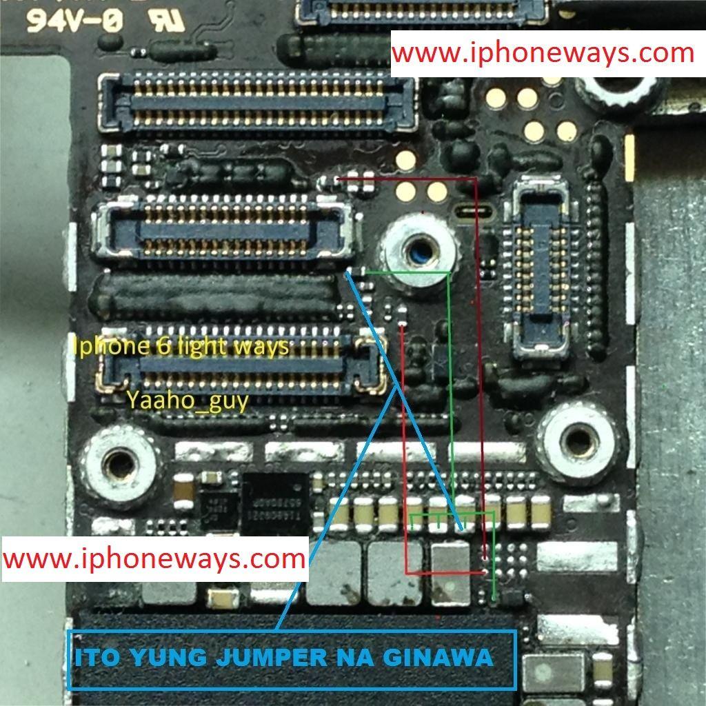 Iphone 6 Display Light Ways Problem Lcd Jumper Solution