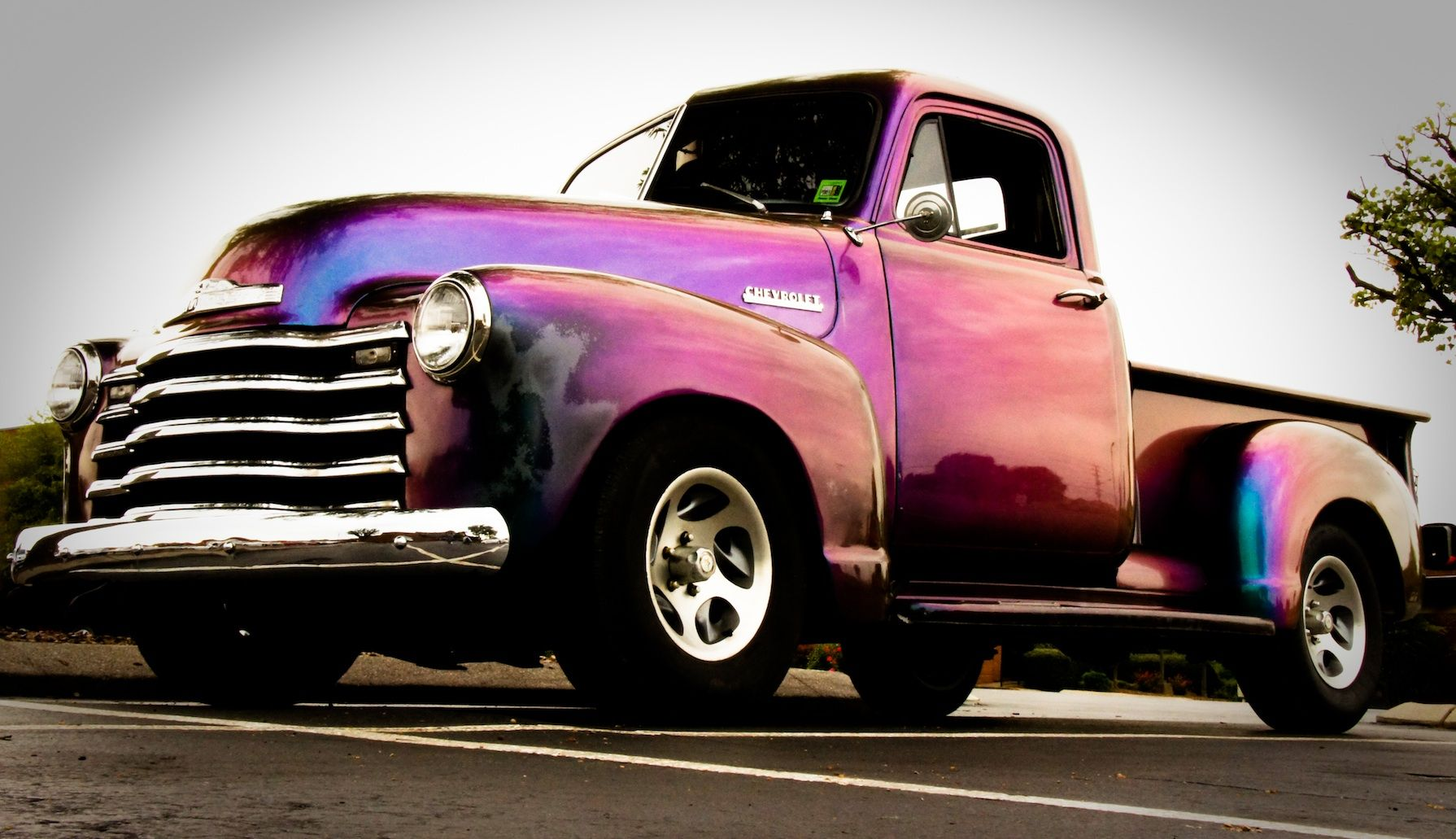 Chevy Truck Wow what a paint job....sweet some day.....i