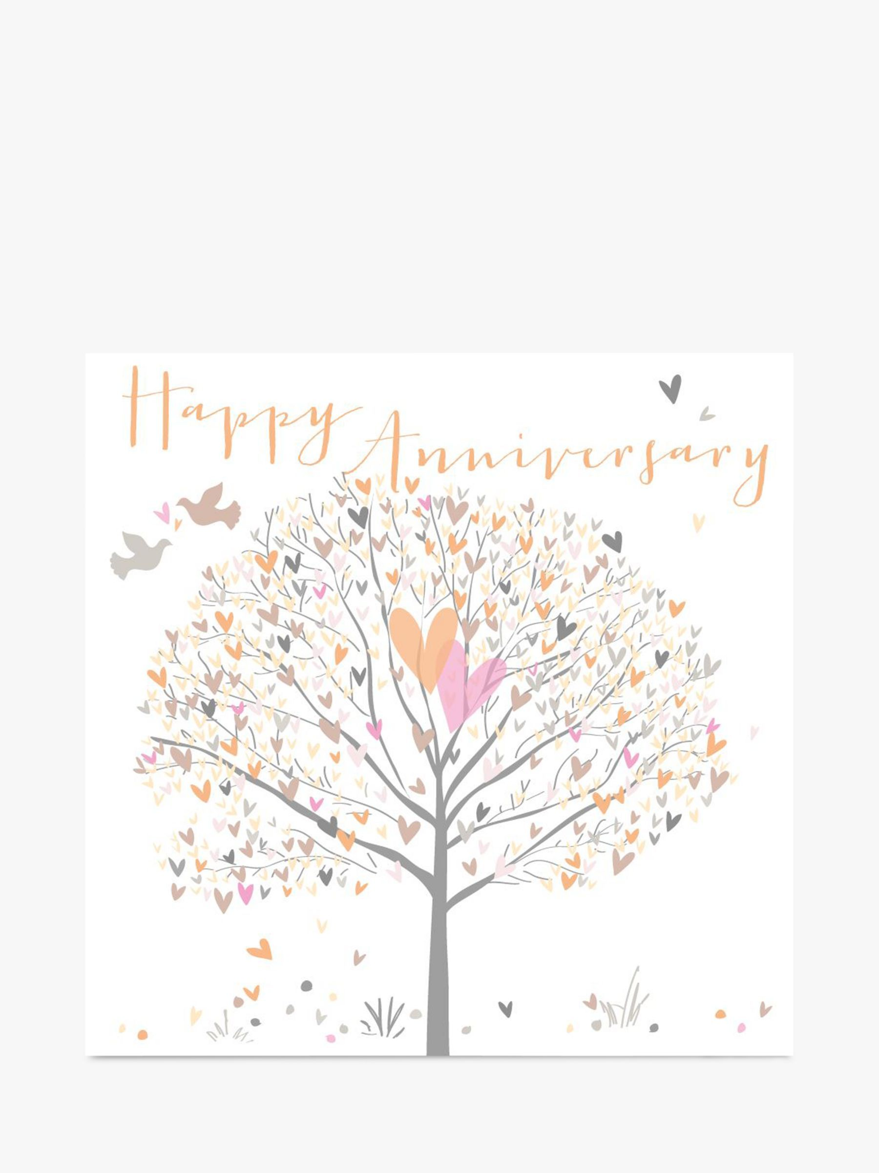 belly button designs tree anniversary card  anniversary