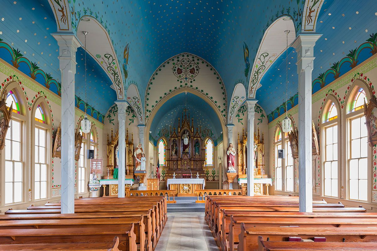 The Painted Churches of Texas #churchitems