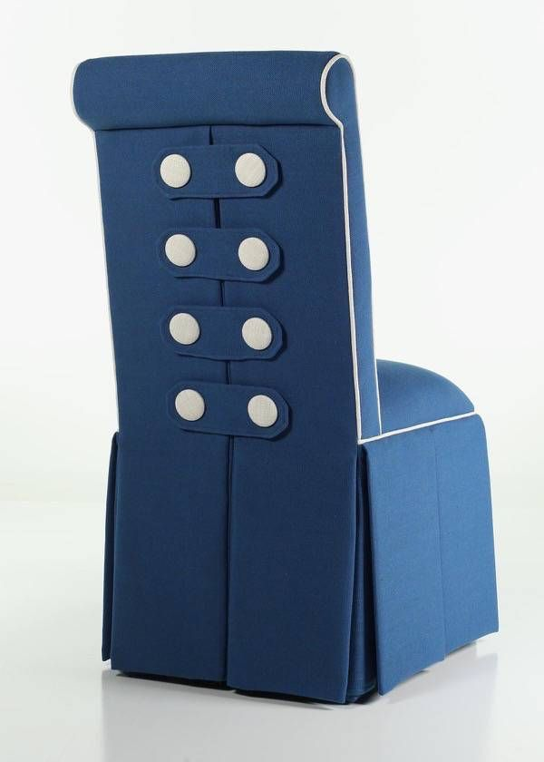 Charmant Button Back Parsons Chair From Carrington Court Direct.