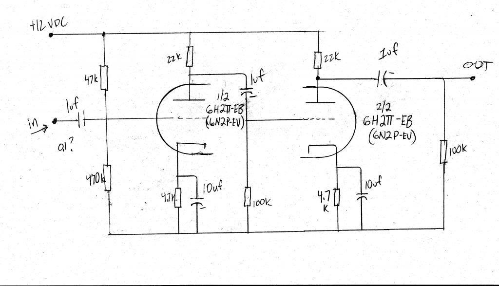 12v tube amp