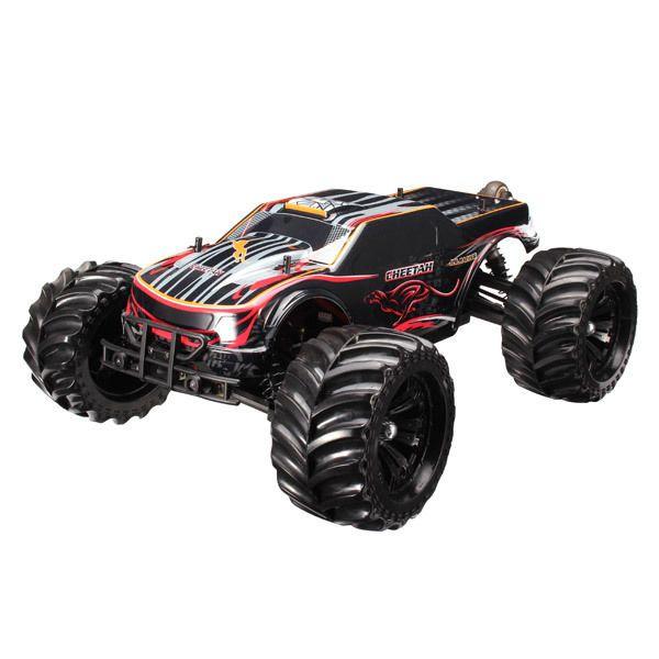 Jlb Racing Cheetah 1 10 Brushless Rc Car Monster Trucks 11101 Rtr