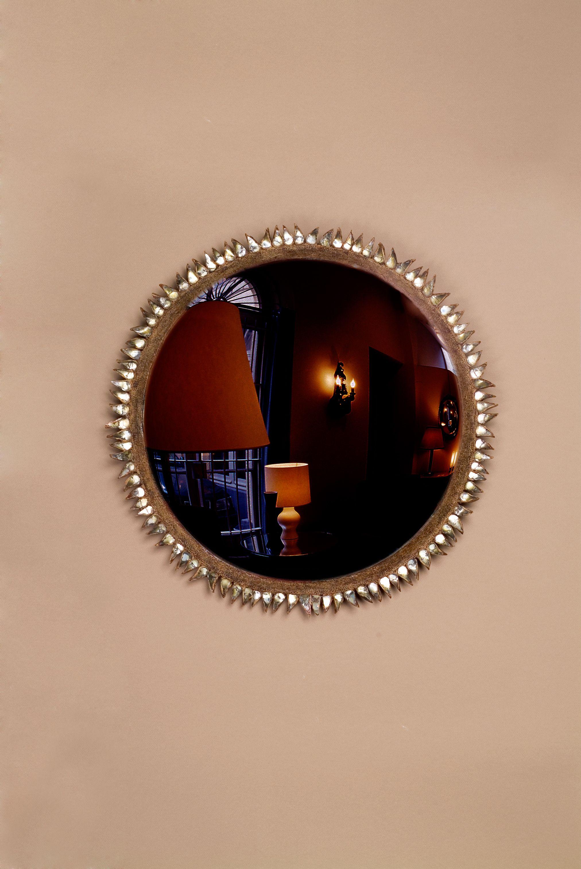 "Miroir ""Chardon"" 1955. ""Chardon"" Mirror 1955."