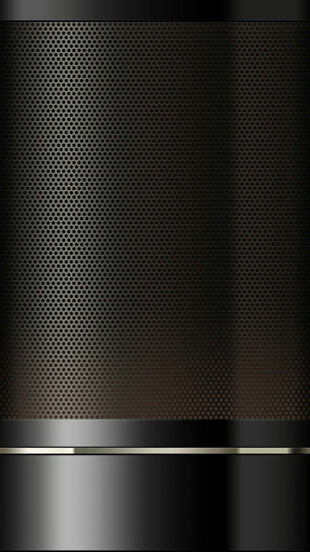 Black Beadboard And Chrome Wallpaper
