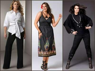 de14f79cef09 Стильная одежда для полных женщин | Идеи образа | Мода для полных ...