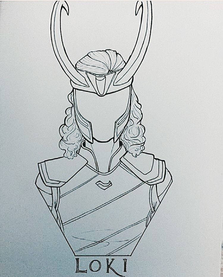 Can I Also Draw Desenho Loki Desenhos Da Marvel Marvel Desenhos