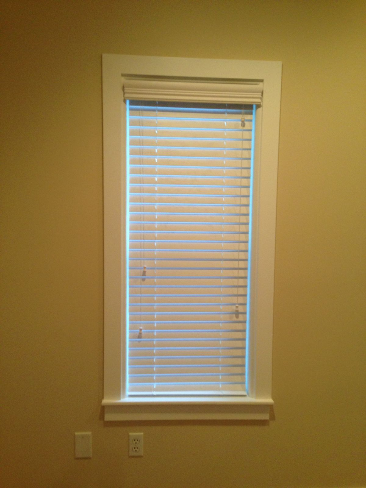 Basement window trim? | Basement Window trim | Pinterest