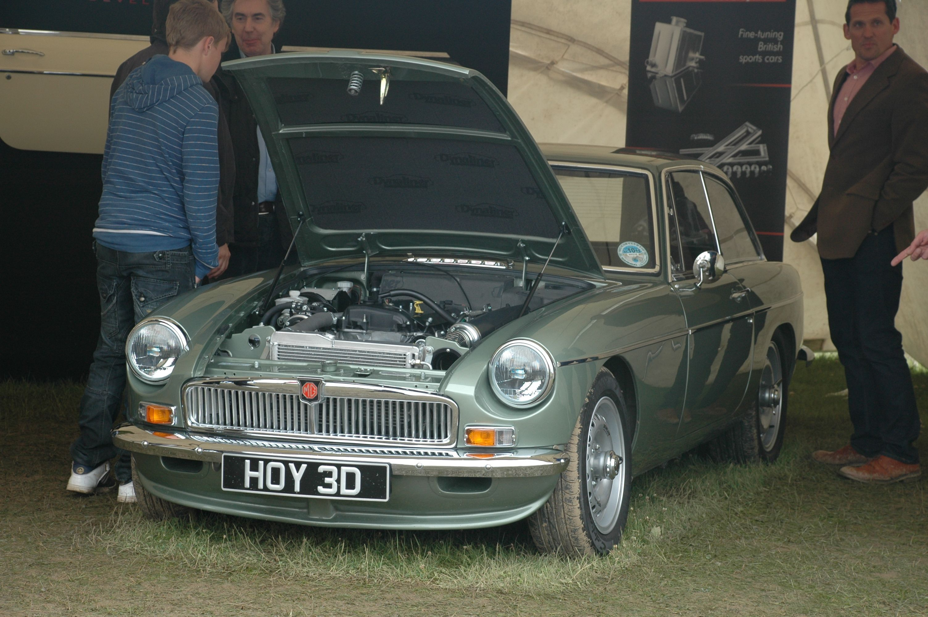 MGB LE50 Hoy at Silverstone 2012