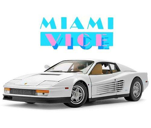 Ferrari Testarossa Miami Vice Miami Vice Ferrari Testarossa