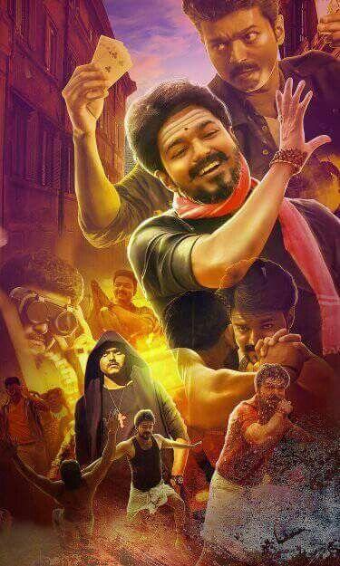 Mersal   Ilayathalapathy!!!   Vijay actor, Tamil movies, Mersal vijay